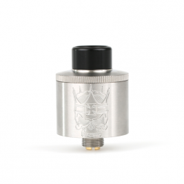 ZION RDA 22mm BY ARMAGEDDON STAINLESS STEEL