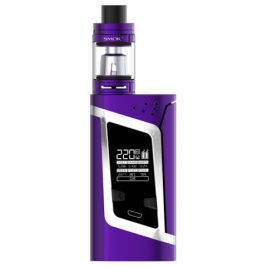 KIT ALIEN EDITION PURPLE/WHITE - SMOKTECH