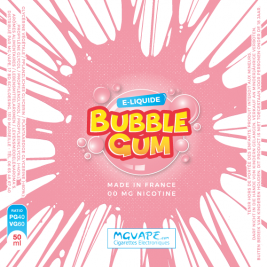 BUBBLE GUM 50ML