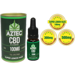 AZTEC CBD - 300MG/10ML - SUPER LEMON HAZE