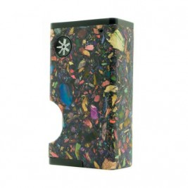 ULTRONER X ASMODUS LUNA SQUONKER BOX MOD MOSAIC EDITION BLACK