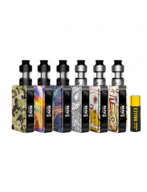 Kit Puxos 100W 21700mAh incluse + Cleito Pro 2ML - Aspire