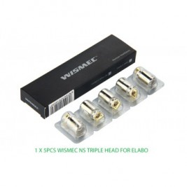 RESISTANCES ELABO NS Triple Head par 5 - WISMEC