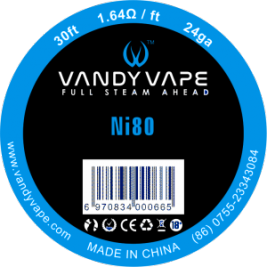 Pure nickel Ni80 24GA 30FT - Vandy Vape