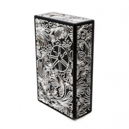ASMODUS ENGRAVED PLAQUE 150W BOX MOD BLACK