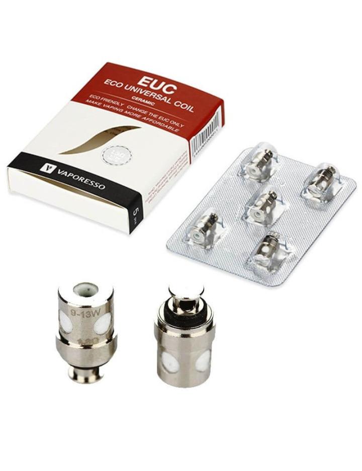 Résistances Mini EUC Eco Ceramic Vaporesso (pack de 5)
