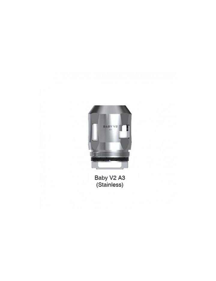 Résistances Baby V2 SS (A3 : 0,15 ohms) par 3 - Smoktech