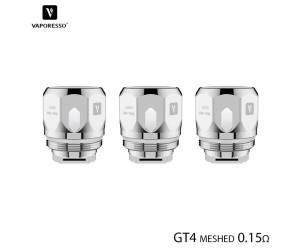 Résistances GT4 Meshed (3pcs) Vaporesso