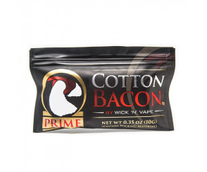 COTTON BACON PRIME WicknVape (10 pièces)