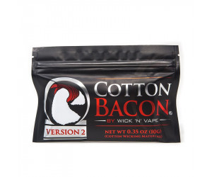 COTTON BACON V2 WicknVape (10 pièces)