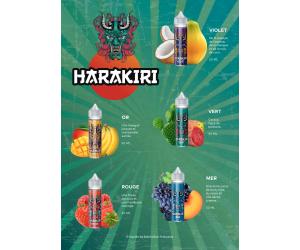 FLYER / PLV HARAKIRI