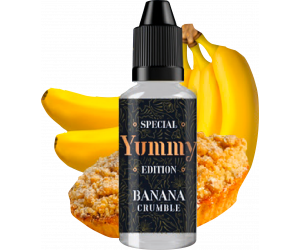 D.I.Y BANANA CRUMBLE 30ML - YUMMY