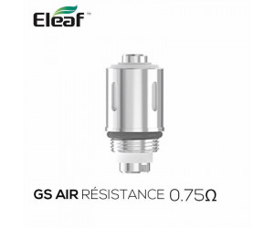 Résistances GS Air 2 (0.75) Eleaf (pack de 5)