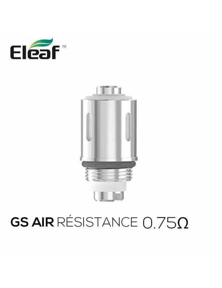 Résistances GS Air 2 (0.75) Eleaf (pack de 5)