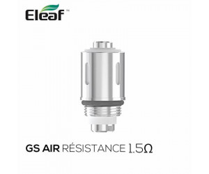 Résistances GS Air 1.5Ω Eleaf (pack de 5)