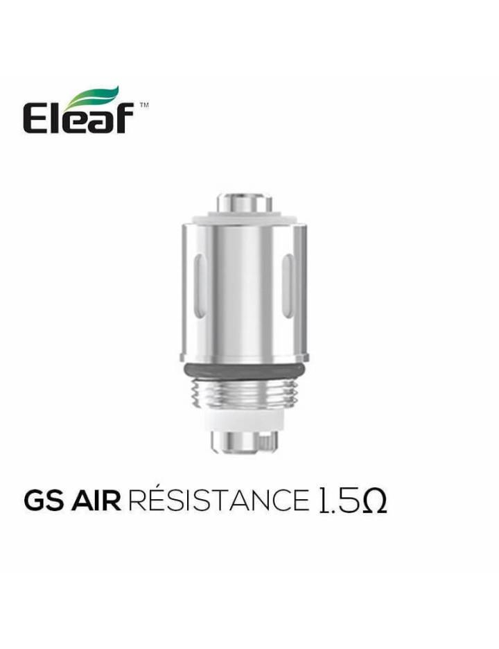 Résistances GS Air 1.5Ω Eleaf (pack de 5)