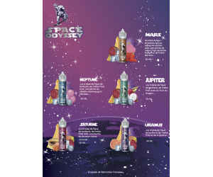 PACK DÉCOUVERTE SPACE ODISSEY  50ML (25 FIOLES )